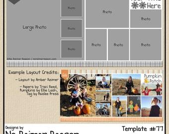 12x12 digital scrapbooking template 67 12x12 digital scrapbooking template 2 page scrapbook layout 77 pronofoot35fo Gallery