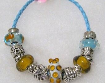 219 - CLEARANCE Goldfish Bracelet