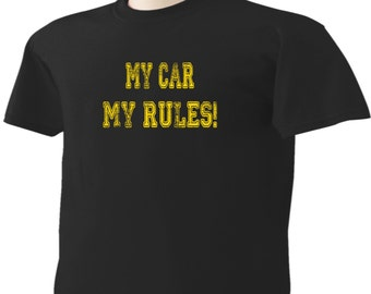 The Office TV Show T-Shirt My Car My Rules Meredith