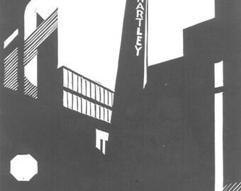 The Jam Factory, Bermondsey, London - limited edition linoprint - 1/40