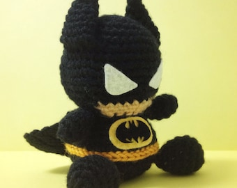 BATMAN Amigurumi Pattern SuperHero Layer Marvel Easy DIY PDF Crochet Tutorial