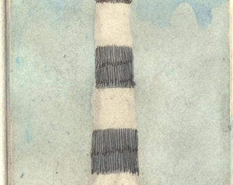 "Etching  ""Lighthouse"""