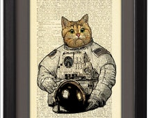 Sweater Cat in Astronaut Suit - Pics about space
