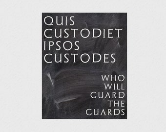 Who Will Guard The Guards Latin 58