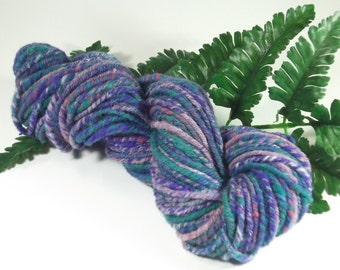 African Lily Handspun Bulky Weight Wool Yarn