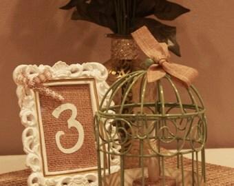 Mini birdcage centerpieces - photo#21
