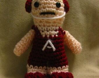 Crochet Wrestling Amigurumi