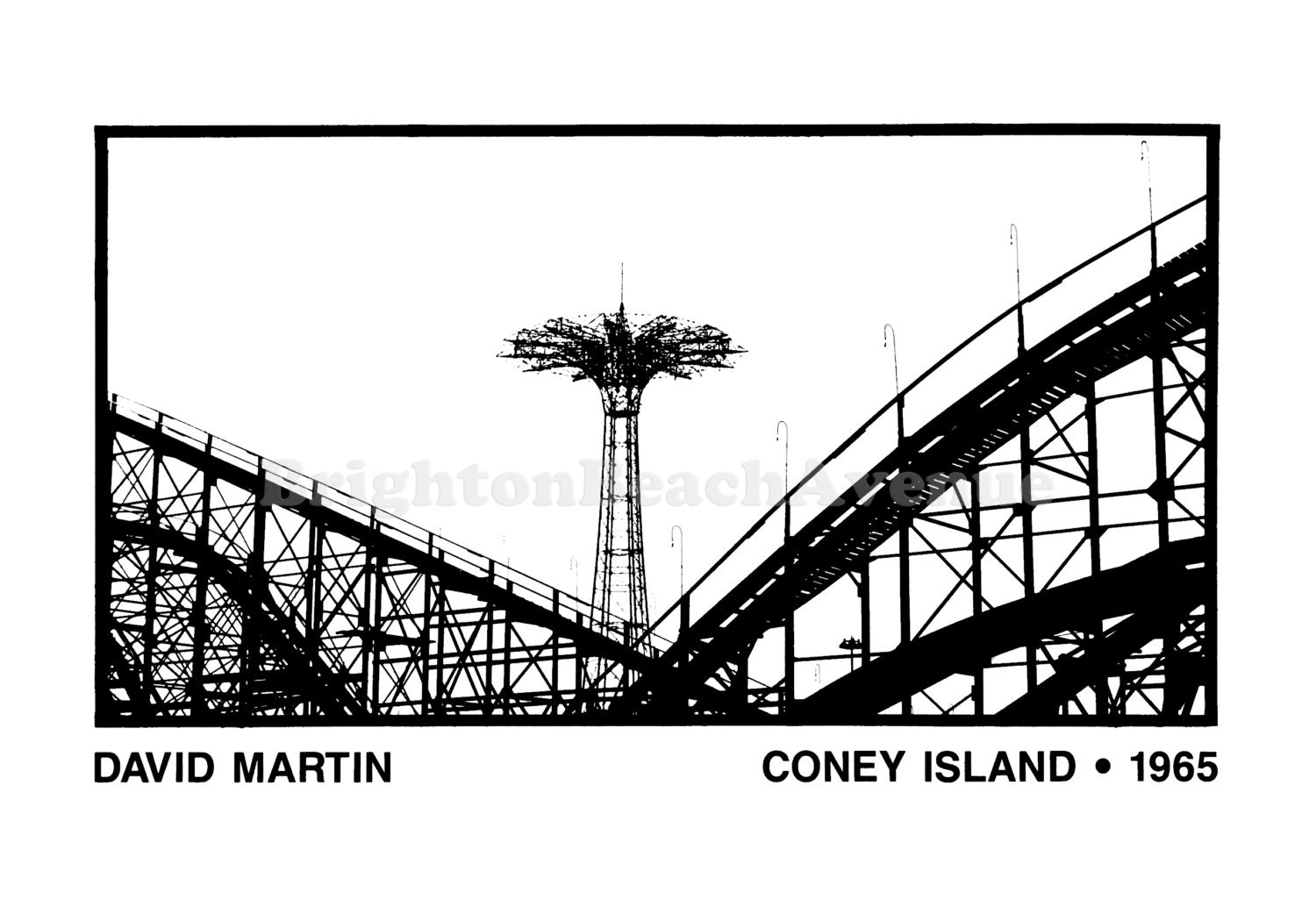 Coney Island ∘ 1965 by David Martin