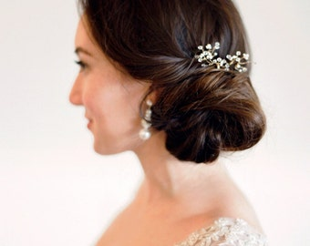 Crystal and Peal Hairpin