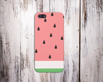 Watermelon Slice Case for iPhone 8 6 Plus iPhone X  Samsung Galaxy s8 edge s6 and Note 8  S8 Plus Phone Case, Google Pixel 2
