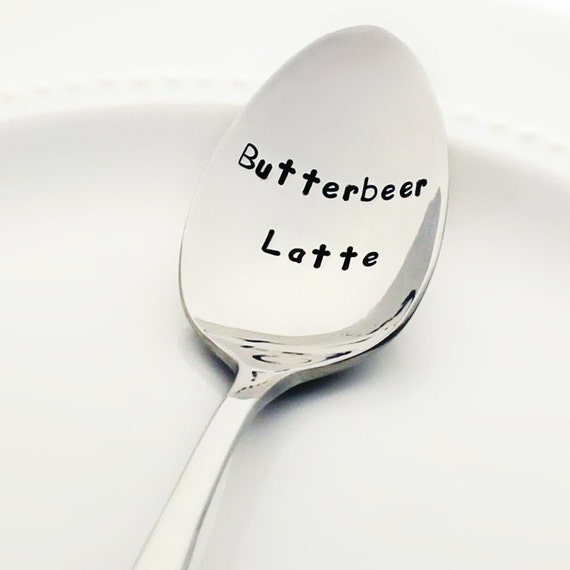 Butterbeer Latte Spoon | Harry Potter Gift Guide