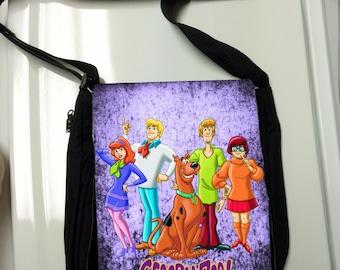 Scooby Doo Gang Messenger Bag / Purse
