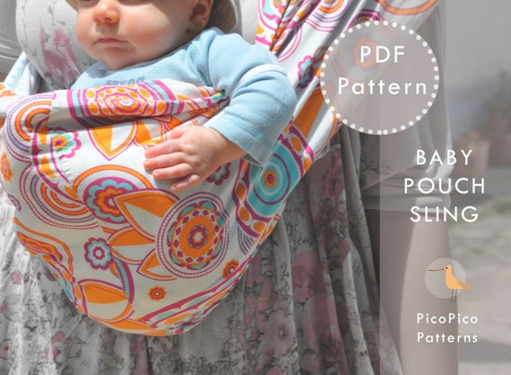 Baby Sling Pattern And Tutorial Doll Sling Pattern Pouch