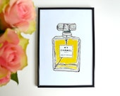 Printable Chanel no.5 print
