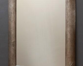 Wall Mirror: modern wall mirror, silver mirror