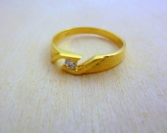 Thin GOLD Ring -gold filled dainty ring, minimalist ring