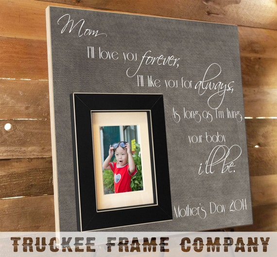 Personalized Wedding Gift For Mom : Gift, Gifts for Mom, Personalized Picture Frame Wedding Gift, Mom ...