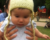 Snuggly Crochet Baby Boy  Hat - a piece of unique handmade clothing