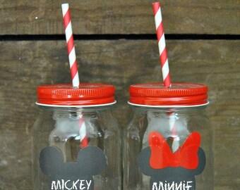 8+ MOUSE Ears Chalkboard Labels - Chalkboard label - Chalkboard Vinyl - Mason Jar Labels - Wedding Chalkboard Labels - Destination Wedding