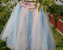 Handmade to Order Flower Girl Tutu (long)