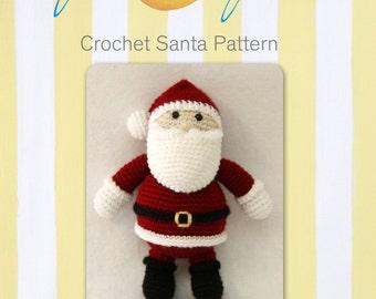 Crochet Santa Pattern-digital download