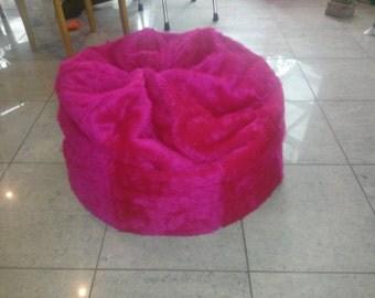 Kids Fluffy Beanbag Chair