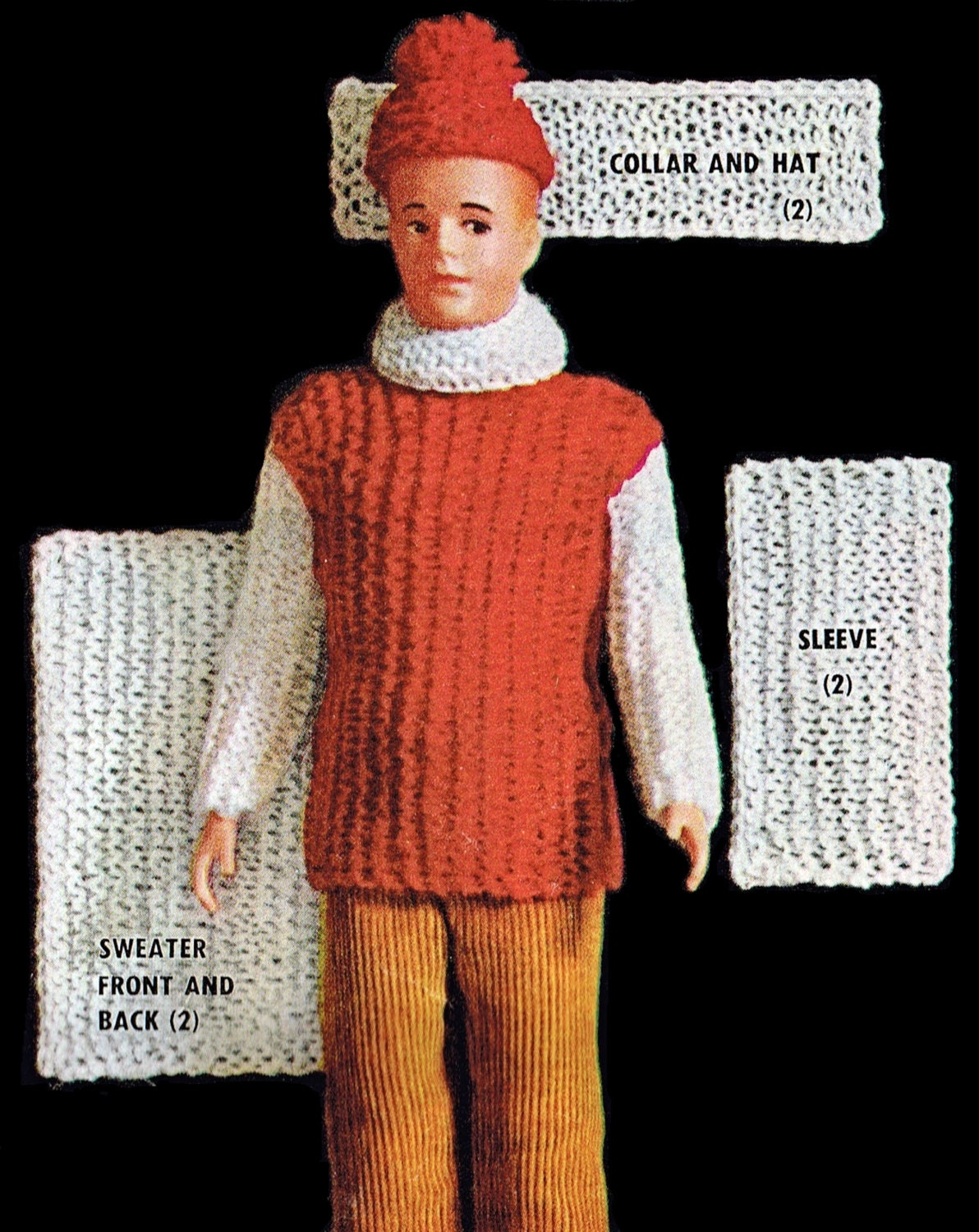 This is a graphic of Transformative Ken Doll Patterns