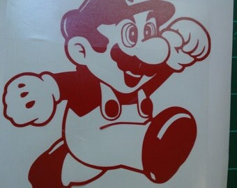 Super Mario Decal