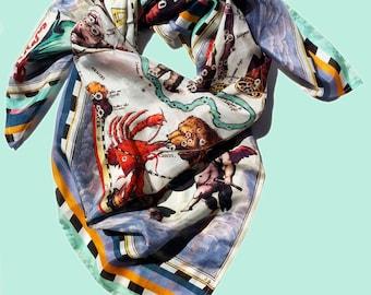 haemisphaeri silk foulard