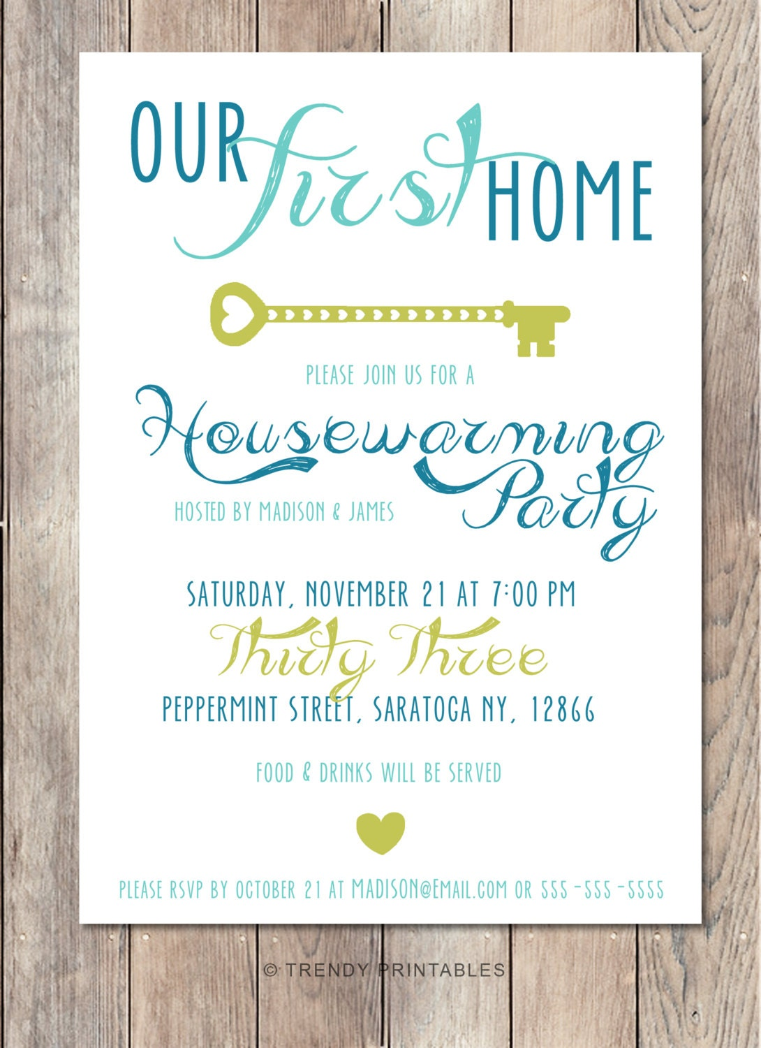 Inventive image with regard to printable housewarming invitation
