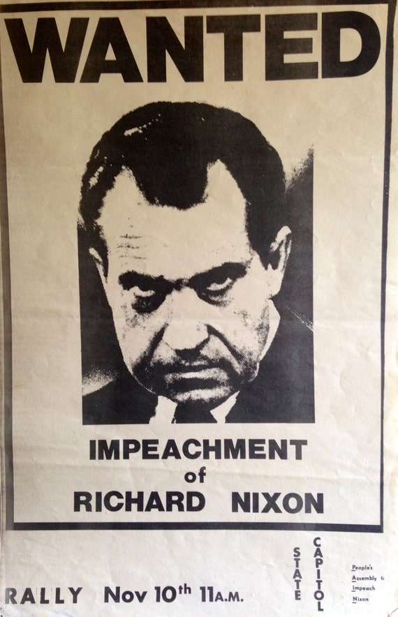 the ethical dilemmas of the nixon impeachment Proceedings of the senate sitting for the trial of andrew johnson president of the united states on articles of impeachment exhibited by the house of representatives.