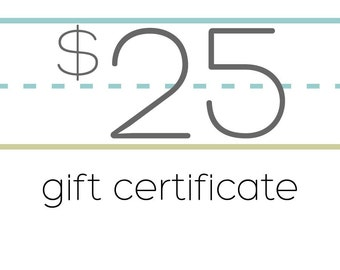 Minnie Millery Gift Certificate