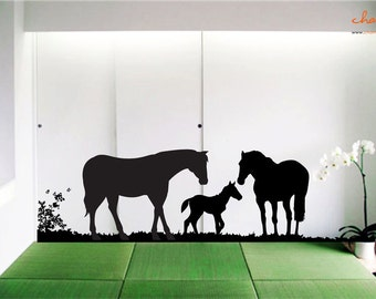 Horse Wall Decal (Version 2)