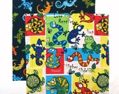 Kids Cloth Napkins, School Lunch Napkins, Fabric Lunchbox Napkins, Set of 2