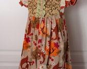 Fox Trot Double Flutter Dress - pre order!