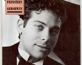 Michael Feinstein, Pure Gershwin. Songs of Ira Gershwin Piano Accompaniment Michael's 1st Studio Album Vintage Vinyl Record, 1987 Elektra LP
