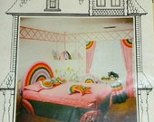 Rainbow Repeat Pattern by Calico Decor for That Patchwork Place, Vintage 1970's