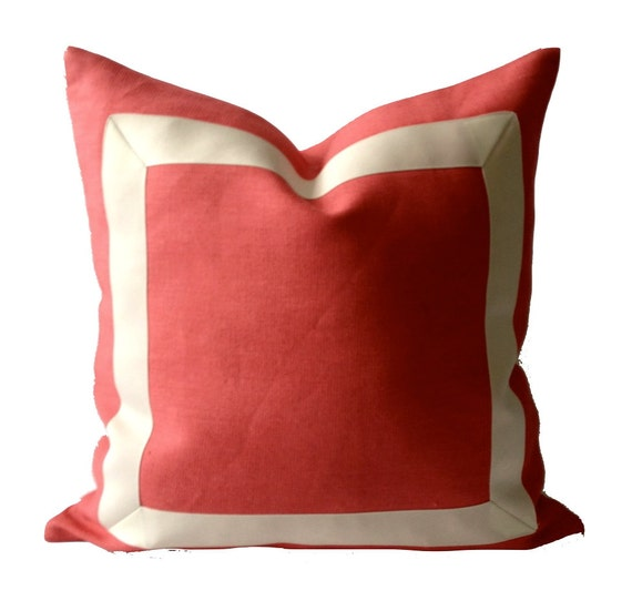 16x16 To 12x24 Decorative Linen Pillow Cover With By