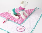 SPRING:  Dog Harness, Leash, and Personalized Blanket