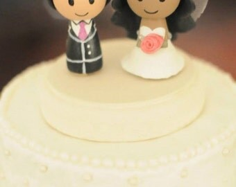 Customizable Wedding Cake Topper - Made to order!