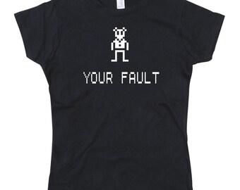 Ladies Ashens Vinnie the Vole Tshirt