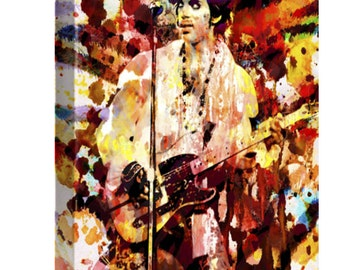 Prince Canvas Art, Prince Original Painting Art Print