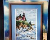 Land's End By Ian Ramsay And Dimensions Cross Stitch Pattern Leaflet 1999