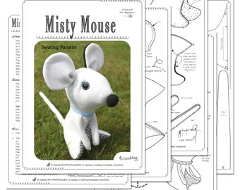 Mouse Sewing PATTERN ***SALE