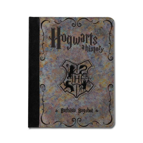 Harry Potter Book Leather Cover ~ Items similar to harry potter inspired leather ipad case