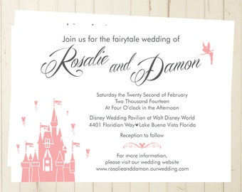 fairytale wedding invitations | etsy, Wedding invitations