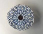 Ikebana Vase . Handmade Pottery Vase