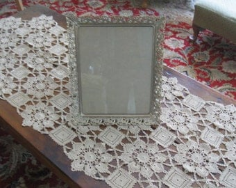 Vintage Gold Metal Decorative Picture Frame with Glass