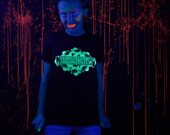 Glow in the Dark What Would Bacchus Do WWBD T-shirt Ladies Small, Medium, Large,  or Extra Large