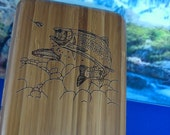 Fishing,Fly Box,Fly Fishing,Premium Woods,Engraved,Personalized Engraving